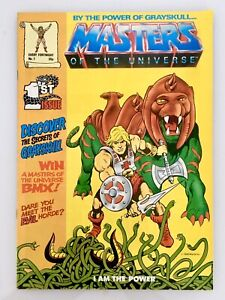 """MASTERS OF THE UNIVERSE He-Man #1 """"1st Appearance In Title"""" 1986 RARE Key Issue"""