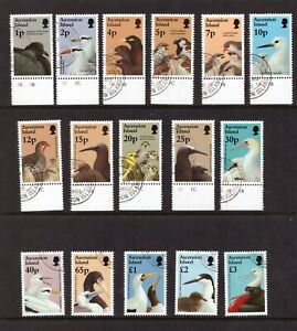 Ascension 1996 Birds/Nature set used CTO stamps