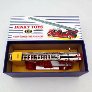 Atlas Dinky toys 32D Auto Echelle DE Pompiers Diecast Models Ladder fire truck