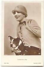 Movie Actress Leathrice Joy With British Bulldog Dog 1930s Ross Verlag 3725/1