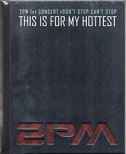 2PM / THIS IS FOR MY HOTTEST 1st CONCERT PHOTOBOOK + DVD DON'T STOP CAN'T STOP