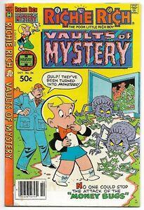 Richie Rich Vaults of Mystery #36 (Harvey, 1980) – Professor Keenbean – FN