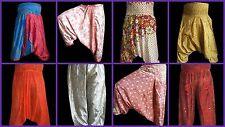 20 pcs Wholesale Lot Hippie Boho Genie Alibaba Pajama Harem Pants Gypsy Trousers
