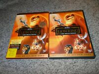 THE LION KING 2003, 2 Disc DVD Set, Platinum Edition with Slipcover AUTHENTIC