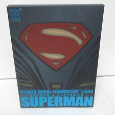 Herocross HMF-034 Superman Figure Metal Hybrid Figuration Batman Vs Superman