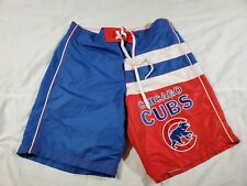 G-III Sports by Carl Banks Chicago Cubs All Star Swim Trunks Board Shirts Sz M