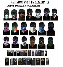 FACE MASK Neck Gaiter Sun Shield Balaclava Bandanna Scarf Skull Hair Head Band