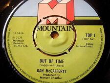 "DAN McCAFFERTY - OUT OF TIME  7"" VINYL"