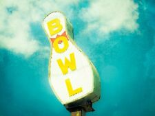 RETRO BOWL SIGN - FINE ART PRINT POSTER 13x19 - SQ004
