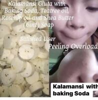 2 Glutamansi Soap With Baking Soda Whitens Skin Lightens Dark Spots High Vitamin