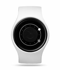 ZIIIRO Orbit Unisex Water Resistant Watch (Snow-White)