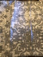 "Pottery Barn Cotton Linen Multi Colors Gray Elsin Toss Sofa Pillow Cover 22"" New"