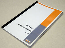 Case 970 Tractor Operators Manual Owners Maintenance Book NEW 8675001-869300