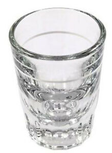 Shot Glasses x 3 (2 ozs) Great for Barista and Specialist Coffee Making!