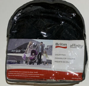 NEW! Britax Affinity BLACK Color Pack Complete! Works with Affinity Stroller
