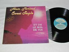 ALAIN MORISOD - SWEET PEOPLE Et J'ai Le Mal De Toi LP Kosmos KOSX-204 1986 Vinyl