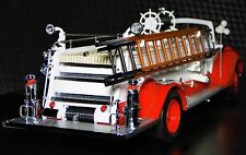 Ford 1930s Vintage Antique Fire Engine Truck A 1 Metal Model 18 T Pickup Car 24
