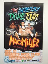 Mac Miller The Incredibly Dope Tour 11x17 Music Poster (Chicago)