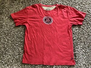 LIFE is GOOD Logo RED Men's GRAPHIC T-Shirt 100% COTTON Size Large
