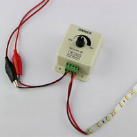 DC 12V 8A Light Dimmer Brightness Control For Single Color LED Strip  NEU~