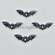 10pcs painting Resin Black bat Flatback stone child scrapbook craft/Christmas