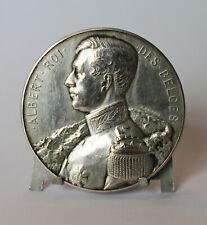 Médaille Albert 1er en Argent de 1924