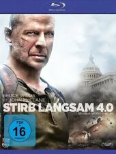 STIRB LANGSAM 4.0 (Bruce Willis, Justin Long) Blu-ray Disc NEU+OVP
