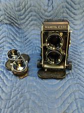 Mamiya C330 Pro Medium Format TLR Film Camera 80mm & 105 mm Lenses