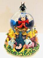 NEW Disney Fantasia The Sorcerer's Apprentice Light Up & Musical Snow Globe NIB