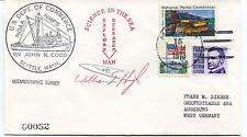 1973 NOAA Ship John N. Cobb Oceanographic Seattle Polar Antarctic Cover SIGNED