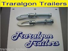 2x anti rattle anti luse latch bolt on trailer truck tailgate antiluce UT2