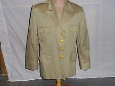 kj46 WW2 US Army & Air Force Khaki Officers 4 pocket Service Tunic size46