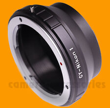 C/Y CY Contax Yashica Zeiss lens to Nikon-1 J1 V1 J3 S1 mount adapter ring N1