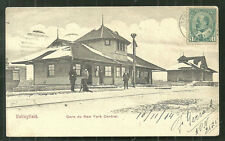 Valleyfield New York Railway Station QC Canada stamp 1904