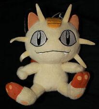 "JAPAN 7.5"" Pokemon Plush Doll MEOWTH Xmas Figure Banpresto"