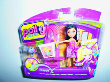 POLLY POKET X1423 CRISSY STICK 'N PLAY DOLL MATTEL