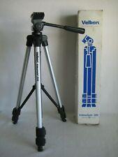 Velbon Videomate 300 Tripod Lightweight Video Tripod Aluminum