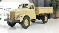 Scale model truck 1:43 GAZ-63, beige 1947