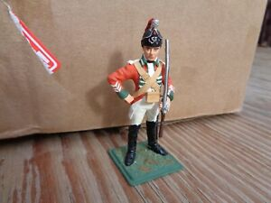 Stadden or similar British AWI Light Dragoon 1760 well painted lead soldier 75mm