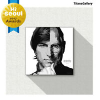 Steve Jobs Art Printed on Acrylic Frame Print Wall Art Poster Painting 25cm