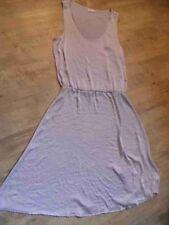 Filippa K Edel schimmerndes ligero vestido de verano talla lilas s mercancía nueva zc117