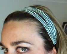 Mimco 💖 Brand New $99.95 Suspense Hair band Turquoise  Head Hair  Fascinator