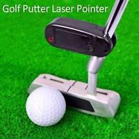 1PCS Golf Putter Baton IR Laser Aimer Putting Training Practice Improve Aid Tool