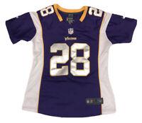 Nike On Field Minnesota Vikings Adrian Peterson #28 Women's Sewn Jersey Medium