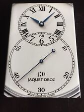 2009 Edition, English Jaquet Droz Watch Catalog
