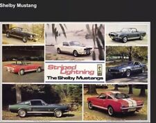 Shelby Mustang History + SAC Ken Miles Flying  Shelby 2 Car Poster Set! WOW!!