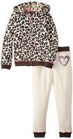XOXO Girls' 2 Pc Set Fleece Jacket and Pant (4-6X) MSRP $42.00