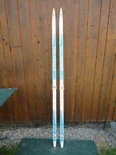 "Ready to Use Cross Country 73"" Long PELTONEN 190 cm Skis with SALOMON Bindings"
