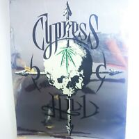 "1993 Rare Cypress Hill ""Black Sunday"" 5""x4"" Sticker Vintage Skull Marijuana NOS"