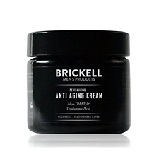 Brickell Mens Revitalizing Anti-aging Cream for Men - Natural Anti Wrinkle 2oz